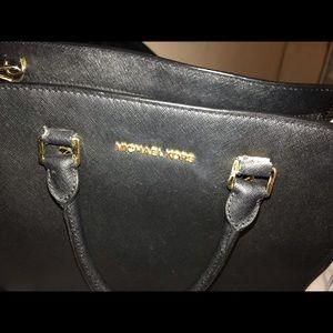Michael Kors Bags - Large black MK Selma. Read description!